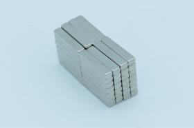 Магнит неодимовый 20x3,8x2,8 мм