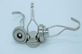 Магнит D25 в корпусе с крючком (вращение 360° градусов)