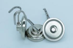 Магнит D36 в корпусе с крючком (вращение 360° градусов) (26 кг)