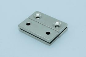 Магнит неодимовый 50х20x4,5 мм, с двумя отверстиями по 5,5 мм