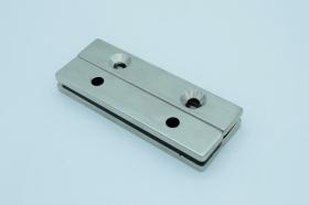 Магнит неодимовый 100х20x4,5 мм с двумя отверстиями 6,5 мм