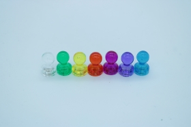 Магнит в пластиковом прозрачном корпусе 15х20 мм