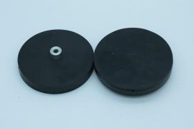 Магнит D66 в резиновой оболочке с внутренней выпуклой резьбой