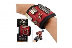 Магнитный браслет на руку для гвоздей и шурупов