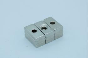 Магнит неодимовый 20х10x4,5 мм, отверстие 4 мм