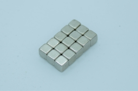 Магнит неодимовый. Куб 4 мм